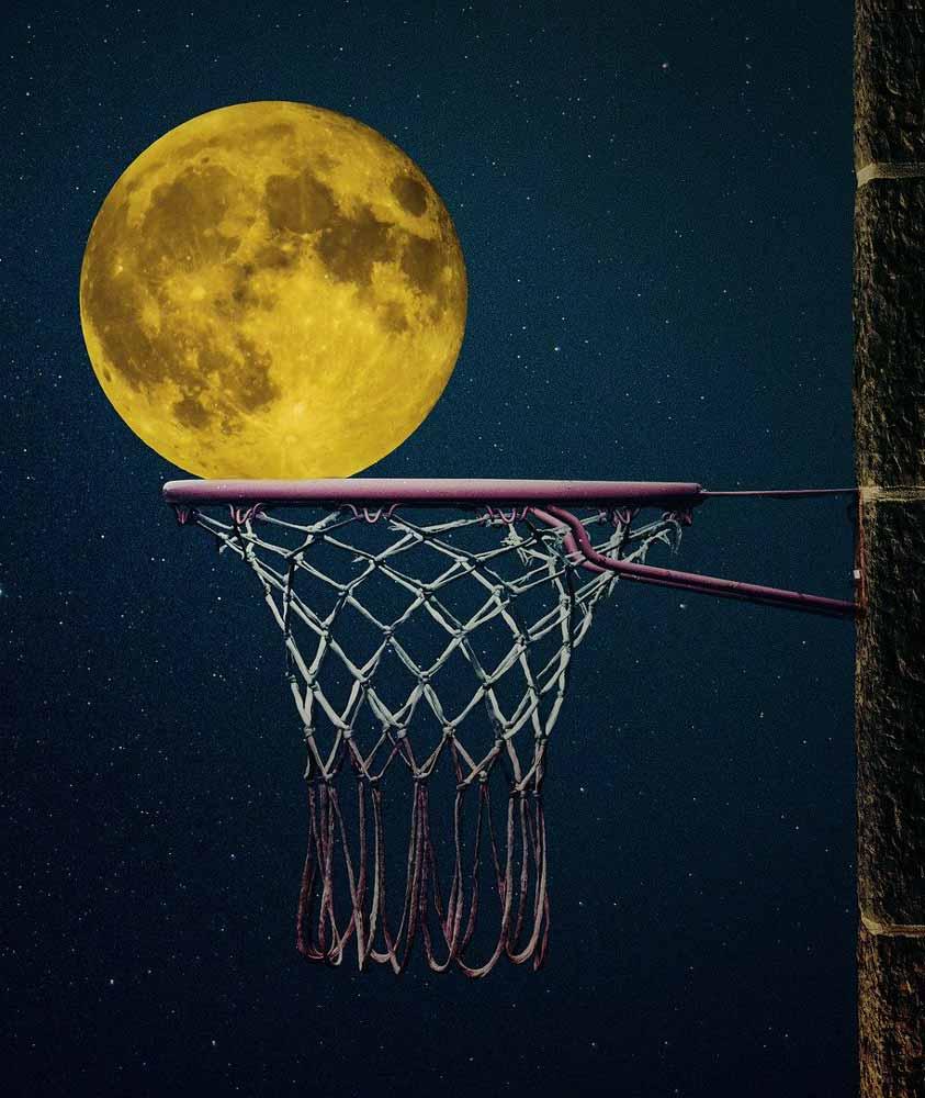 Träume und Wünsche Basketball